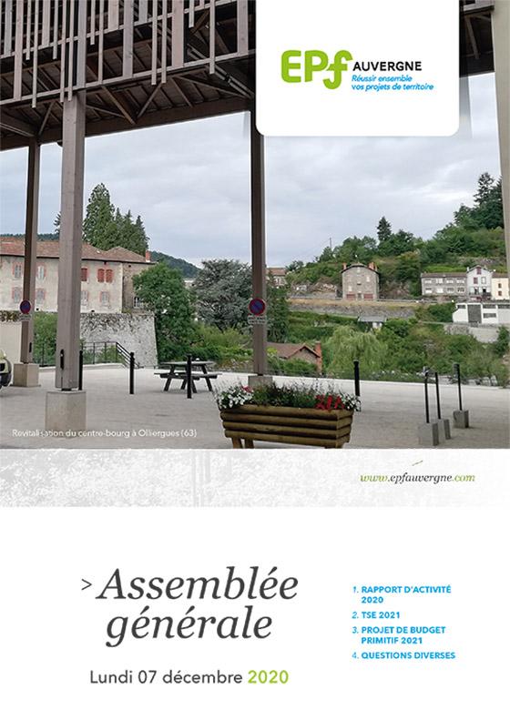 Brochure Assemblée Générale EPF Auvergne 07 décembre 2020