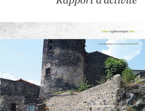 Le rapport d'activité 2020 de l'EPF Auvergne en ligne !