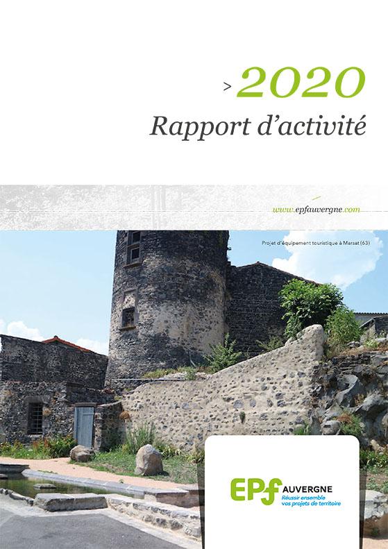 Rapport d'activité 2020 de l'EPF Auvergne
