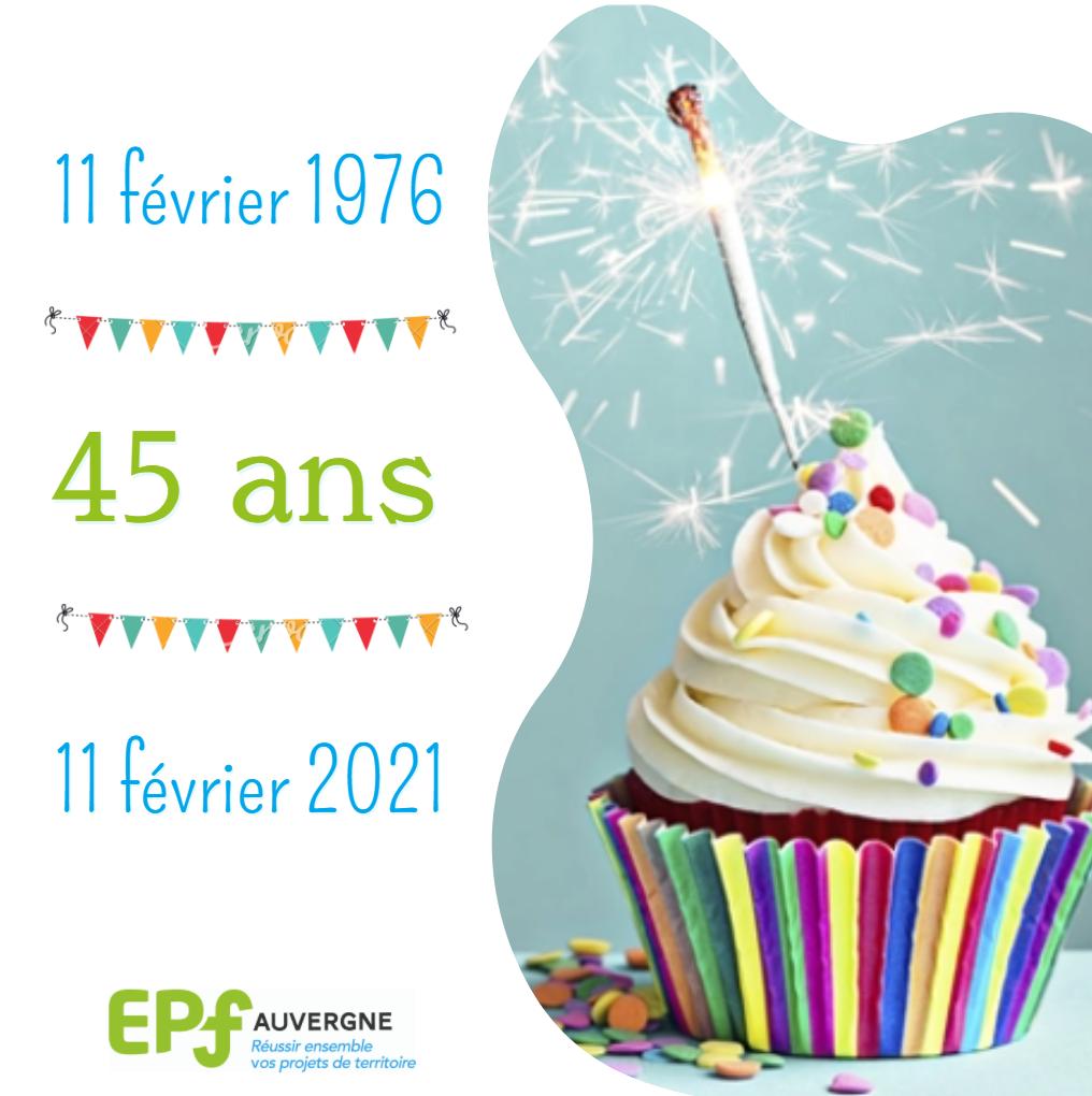45ème anniversaire de l'EPF Auvergne