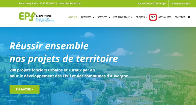 Bandeau site EPF Auvergne