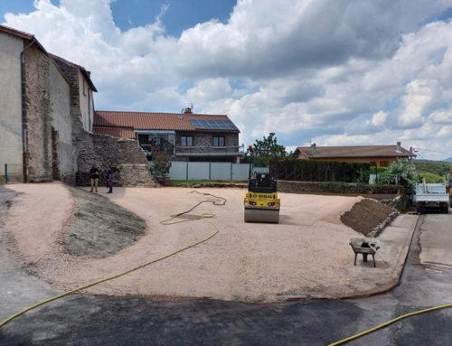 Un chantier complexe à Loudes (43)